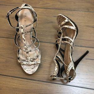 Burberry Snake Heels
